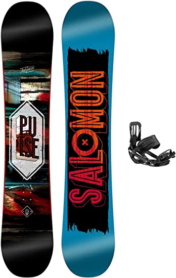 SALOMON Herren Snowboard Set Pulse 156 + Pact: