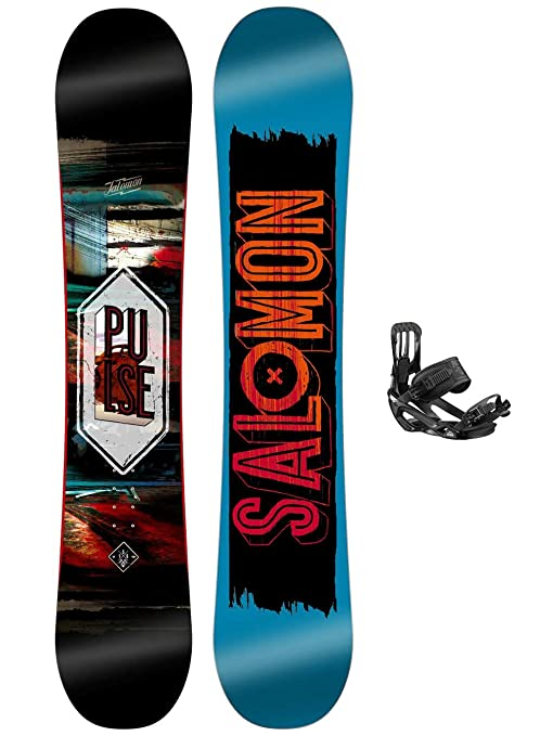 Salomon Herren Snowboard Set Pulse 160 + Pact: