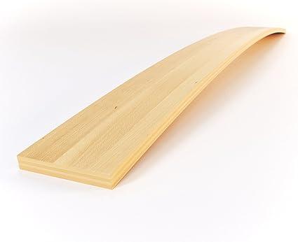 SMARTBett Smart Cama Listones de Madera con Grosor (Altura) 0,8 cm y Ancho 5,3 cm en Diseños Diferentes de Longitudes de Madera de Haya, Kit de ...