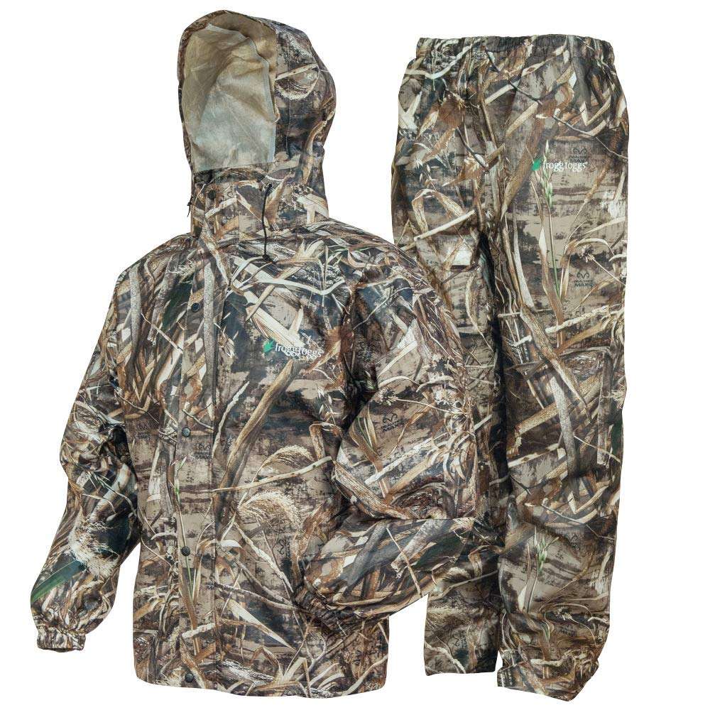 Frogg Toggs Frogg Toggs All Sport Rain Suit, Realtree Max-5, Size Small All Sport Rain Suit, Realtree Max-5, Small