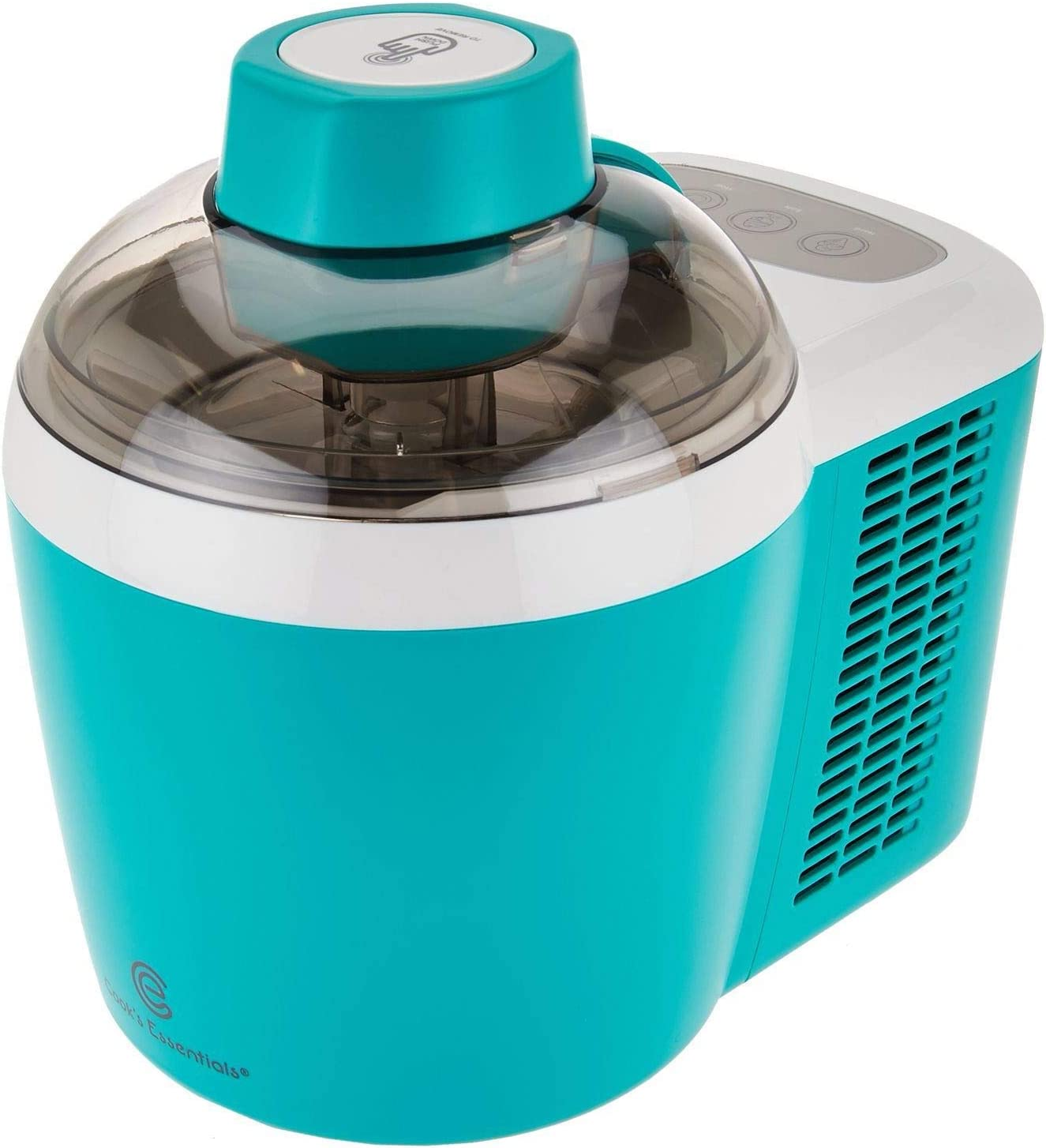 Cooks Essentials Ice Cream Maker Powerful 90W Motor Thermo Electric Self-Freezing System K45559191000 (Renewed)