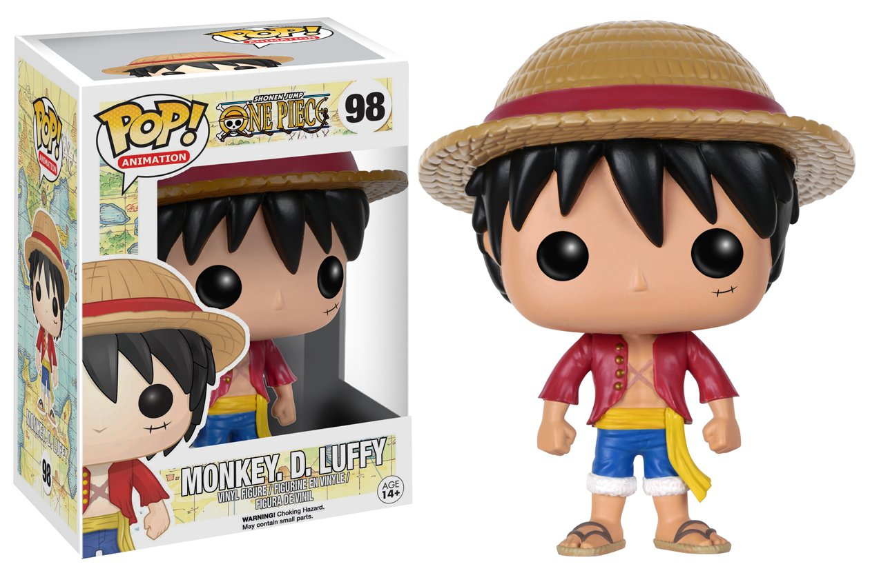Funko POP Anime: One Piece Luffy Action Figure by Funko