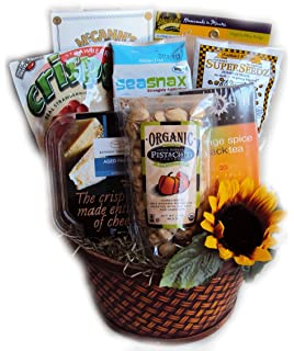 Amazon.com : Deluxe Diabetic Gift Basket : Gourmet Snacks And Hors ...