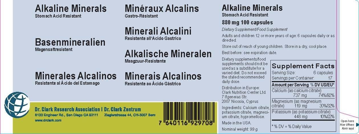 Amazon.com: alcalinas minerales, 880 MG, 100 °Cápsulas ...