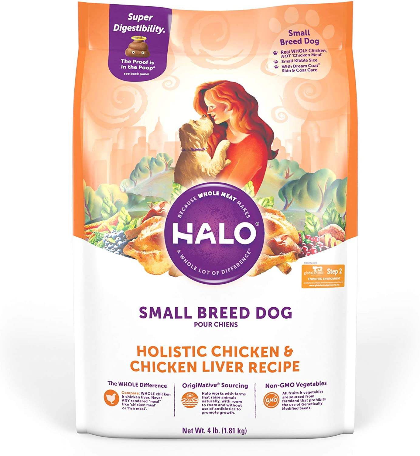 1. Halo Natural for Small Breeds