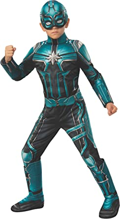Amazon Com Captain Marvel Yon Rogg Child Deluxe Costume Toys Games The improvement for this costume: captain marvel yon rogg child deluxe