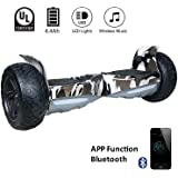 "EVERCROSS Hoverboard Challenger Basic 8,5"" Gyropode Tout-terrain Smart Skateboard Électrique (Camouflage)"