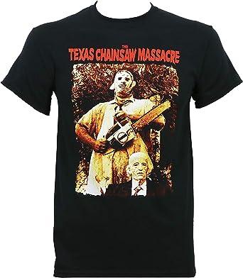 Skyey Camiseta de Cuero y Abuelo para Hombre The Texas Chainsaw Massacre: Amazon.es: Ropa y accesorios