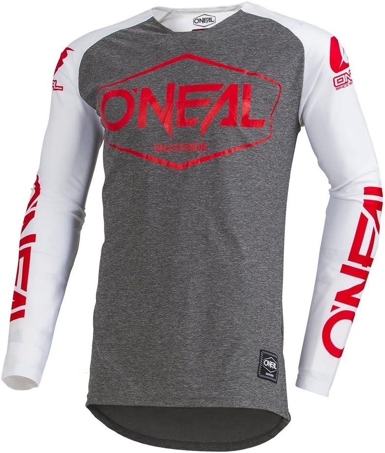 Gr/ö/ße ONeal Mayhem Hexx MX Jersey Trikot lang grau//orange 2020 Oneal 56//58 XL