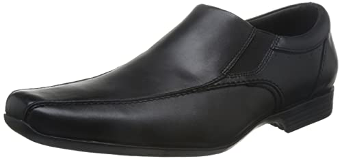 Clarks Forbes Step Mens Slip On Shoes 5 Black