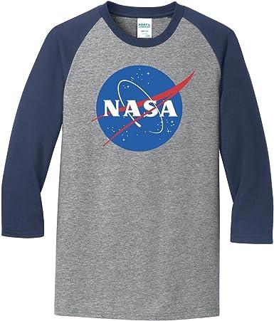 NASA SPACE ASTRONAUT GEEK NERD STAR BASEBALL SHORT// LONG SLEEVE UNISEX T-Shirt