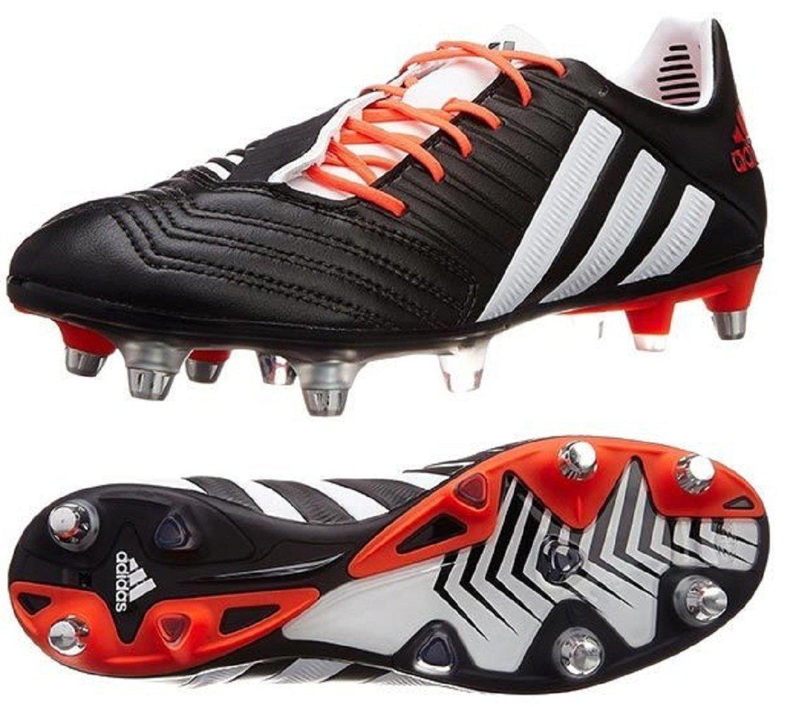 アディダス (adidas) ソフトグラウンド用 ラグビースパイク 29.5cm Predator Rugby SG プレデターラグビー 国内正規品 M29643 コアブラック B07917Z6KK