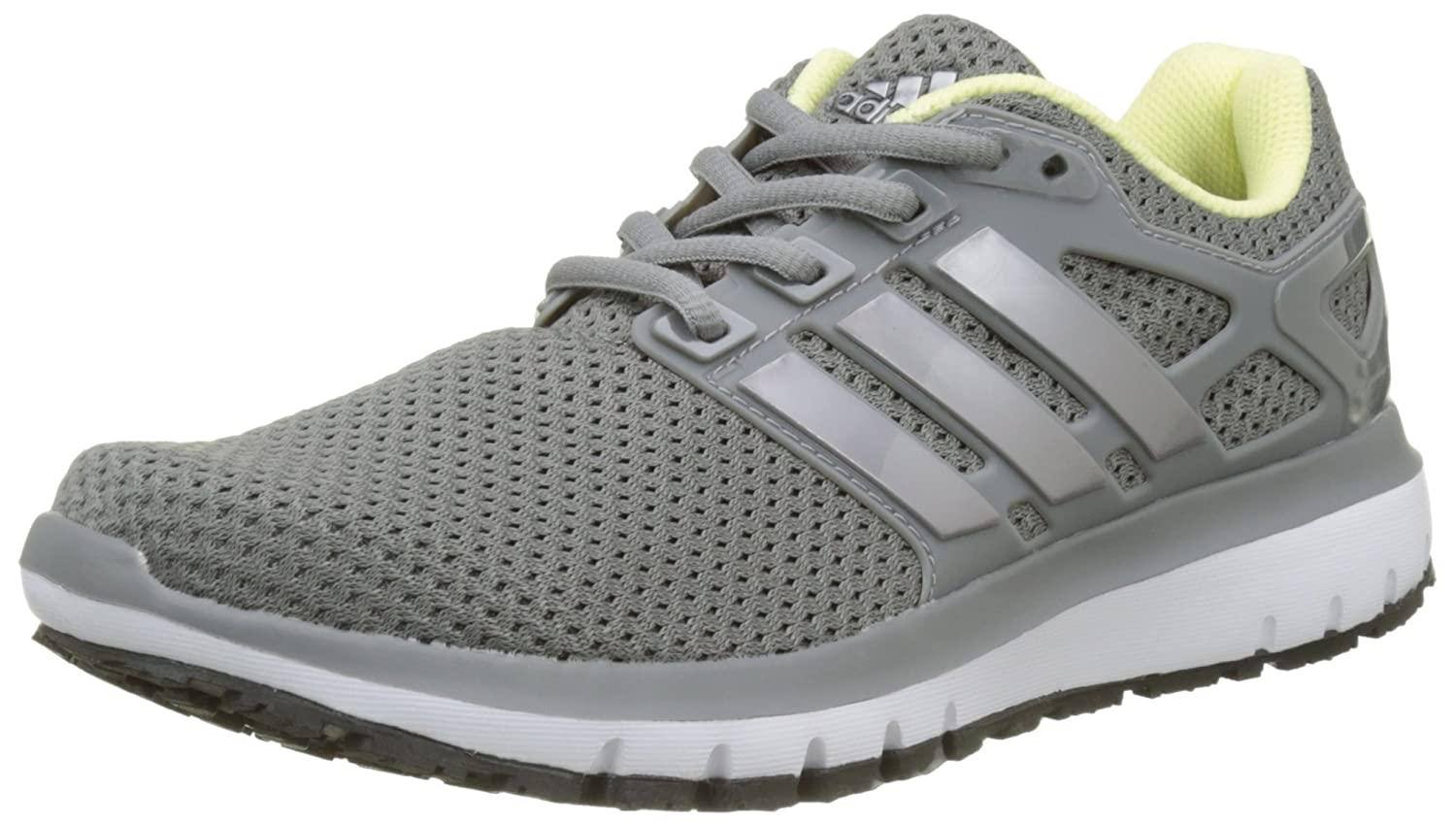 adidas Damen Energy Cloud W Laufschuhe  38 2/3 EU|Grau (Grey Three/Tech Silver Metallic/Grey Four)