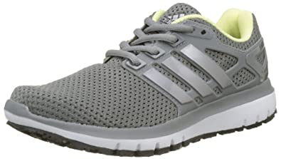 super popular 1aa2a e8c47 adidas Damen Energy Cloud WTC Laufschuhe Grau Threetech Silver  MetallicGrey Four,