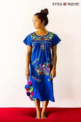 c7d9df1de3d Amazon.com  Slip Over Embroidered Dress SIZE LRG  Handmade