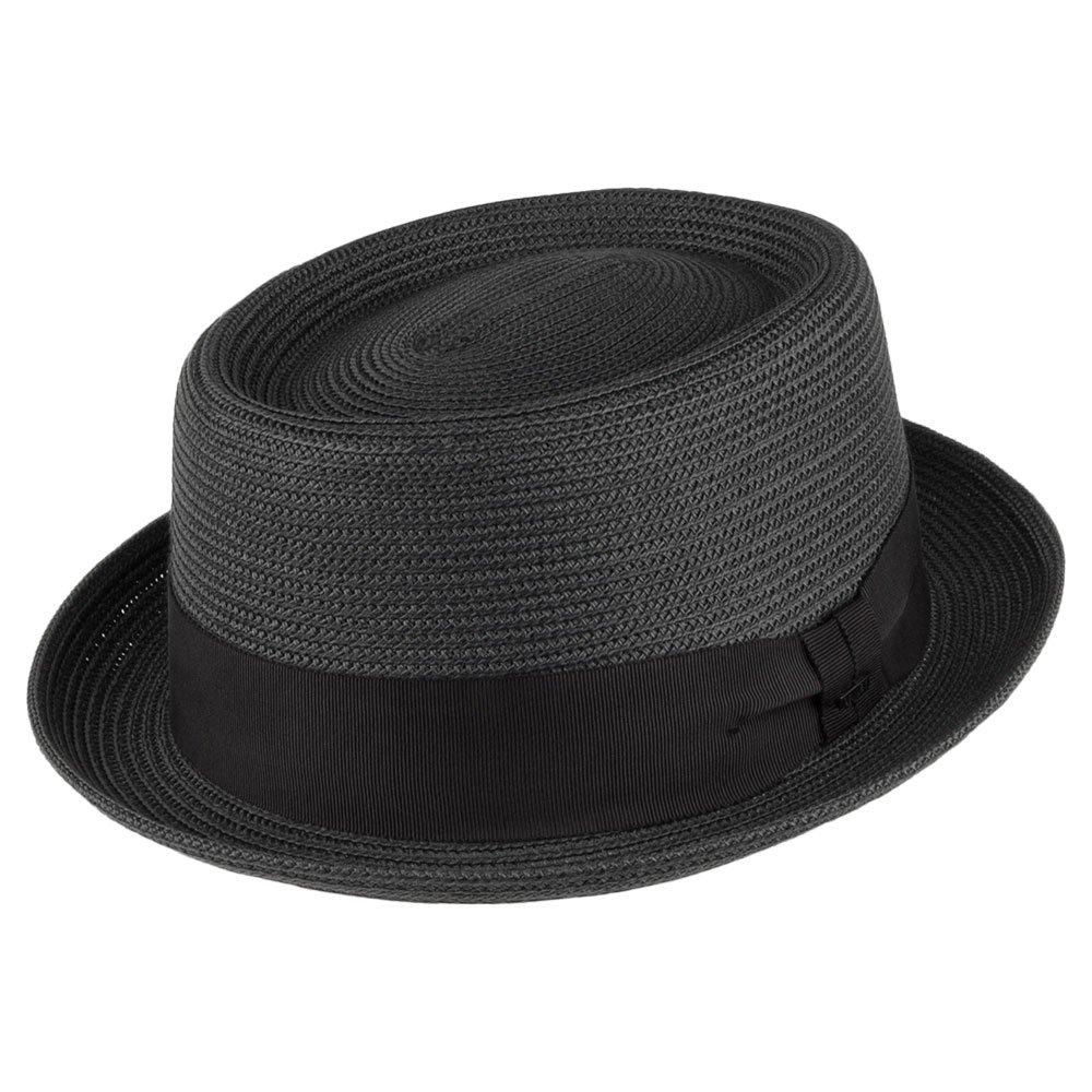 Bailey Hats Waits Pork Pie Hat - Black