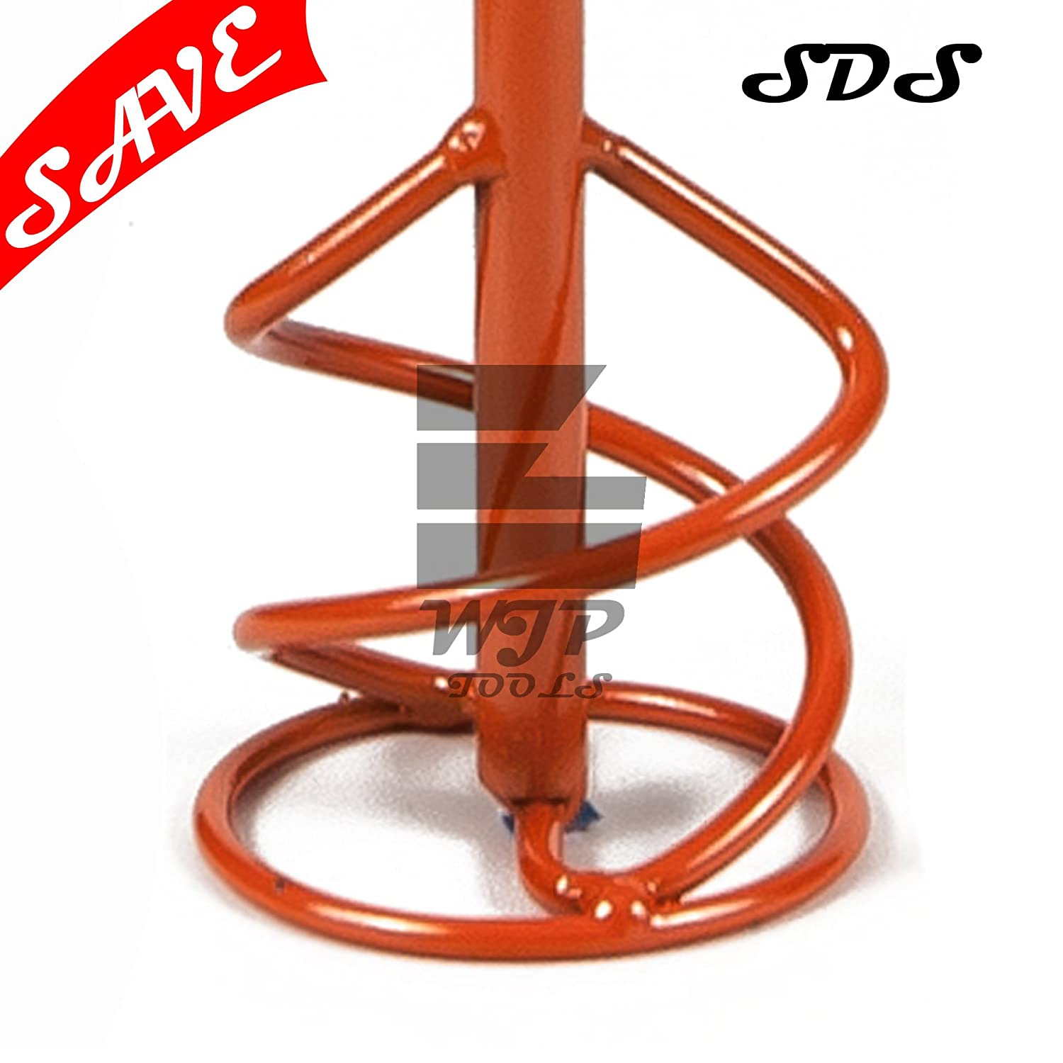 PROPELLER Mixing Paddle 85 x 400 mm SDS PLUS Mixer, Plaster, Render Whisk, Stirrer PROPER-TOOLS (P44/1184)
