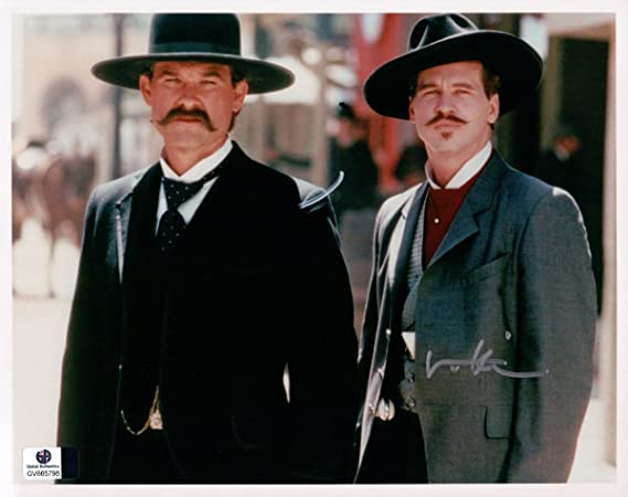 Val Kilmer Signed Autographed 8x10 Photo Tombstone Doc Holliday W