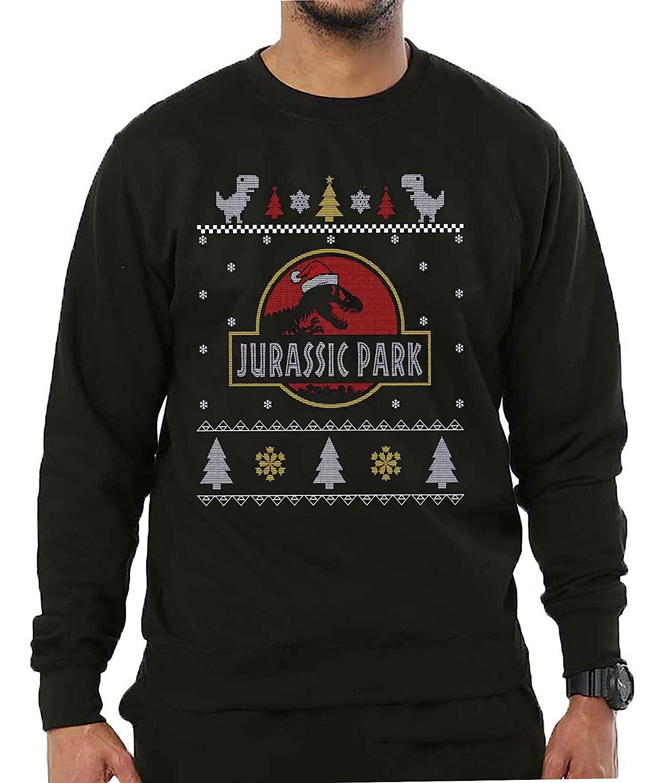 d7e83d6eeb4 Jurassic Park Christmas Jumper Festive Adults & Kids Xmas Sweater