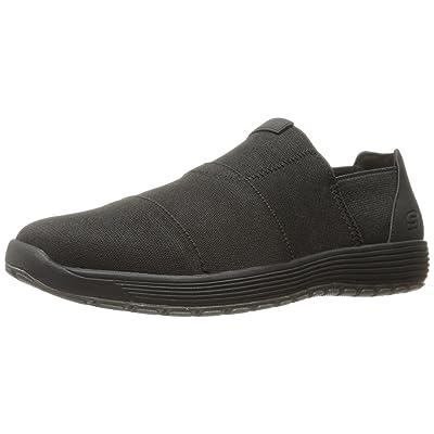 Skechers USA Men's Venick Saban Slip-on Loafer, Black, 12 M US | Loafers & Slip-Ons