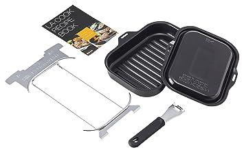 Paloma - Parrilla para cocina de gas PGD-9B, color negro ...