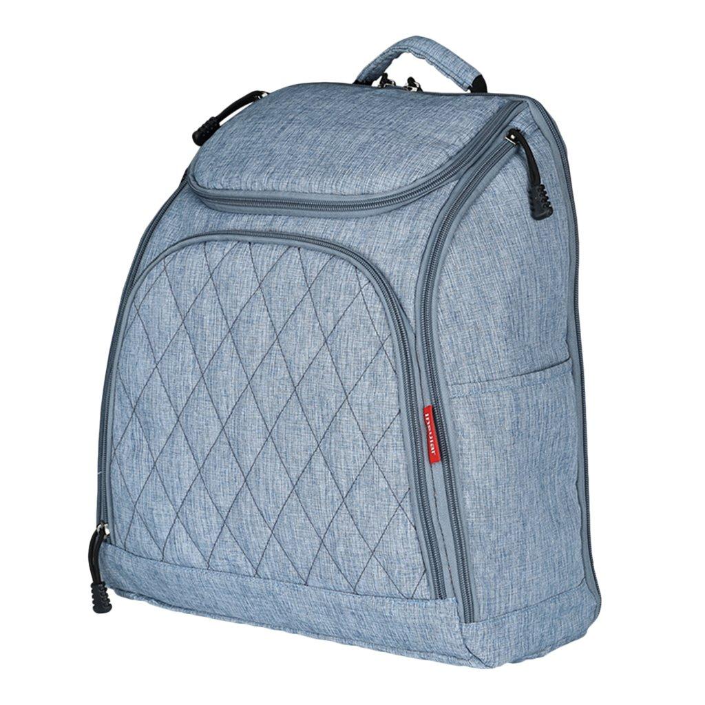 Sharplace Baby Wickeltasche Reise Rucksack Isolierte Tasche Wickelrucksack Babytasche für Mama Schwangere - Blau