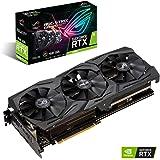 Asus Tarjeta De Video NVIDIA GeForce RTX 2060 Edición 6GB GDDR6 con Tres Ventiladores Wing-Blade (ROG-STRIX-RTX2060-6G-GAMING