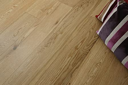 Lacquered 3 Ply Engineered Oak Wood Flooring 1860 189 154mm