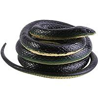 Realistic Soft Rubber Snake Garden Props Funny Joke Prank Toy Gift 51 Inch Long