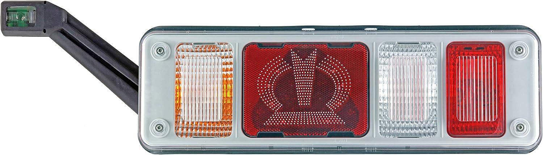 Hella 2vp 340 961 531 Heckleuchte Hybrid 24v Anbau Stecker Easyconn 7 Polig Links Auto