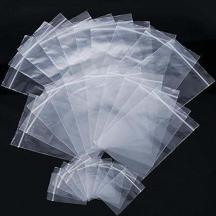St@llion bolsas transparentes resellables reutilizables con ...