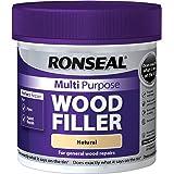 Ronseal MPWFN465 465 g Multi-Purpose Wood Filler Tub - Natural