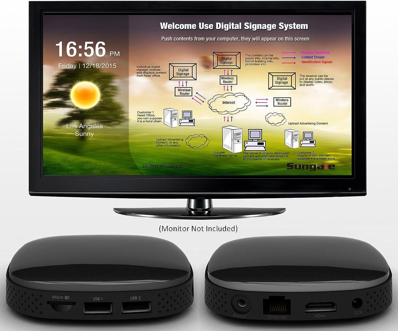 B07D7M9BYF Sungale KWS759 Digital Signage Display Box 71Pix7Qh2kL.SL1500_