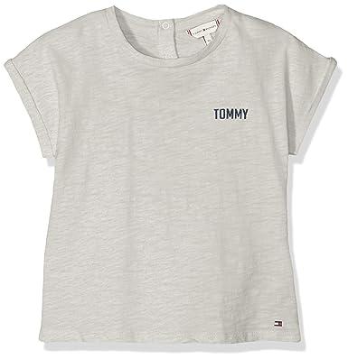 Tommy Hilfiger Painted Love tee S//S Camiseta para Beb/és