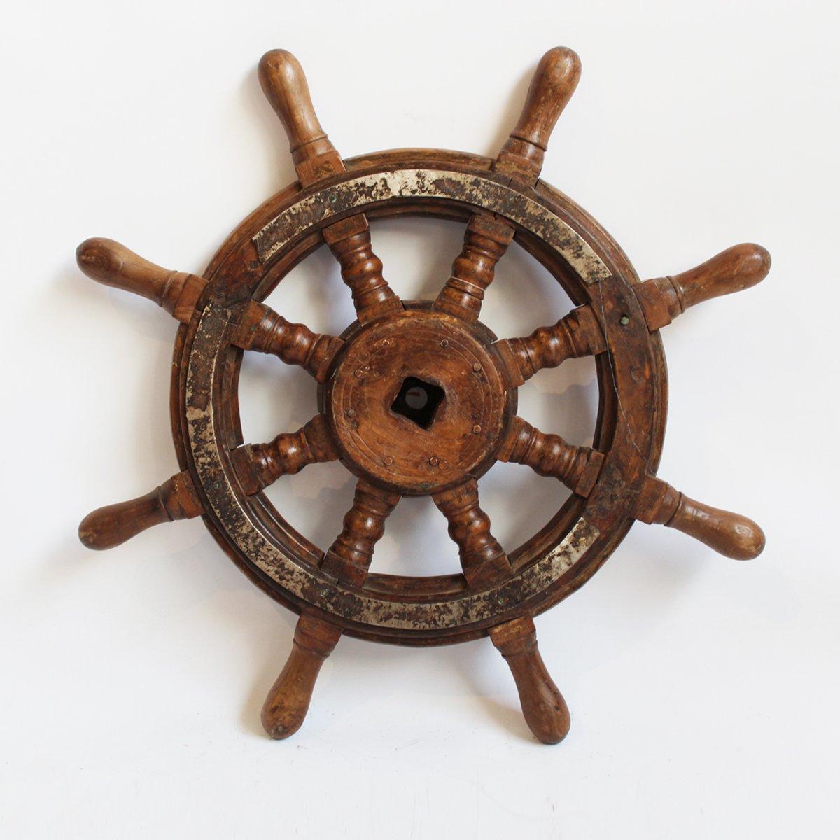 Original Captains Tiller Wheel