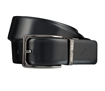 new product fb5e0 d90e8 Daniel Hechter Men's Plain Belt Black Black - Black - XL ...
