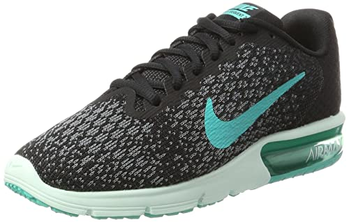 491b6255c9e Nike Women s s WMNS Air Max Sequent 2 Running Shoes Black Anthracite Cool  Grey