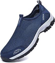 80d0664ec6d664 Resonda Mens Water Shoes,Mesh Quick Dry Aqua Shoes for Beach Activities or  Camp Shoes