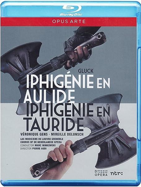 Amazon Gluck Iphigenie En Aulide Tauride Blu Ray Veronique Gens Mireille Delunsch Anne Sofie Von Otter Yann Beuron Salome Haller