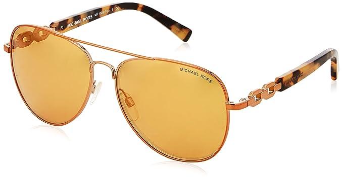 Michael Kors Women s 0Mk Fiji 10915N Sunglasses, Copper Orange Flash ... 2b984f9d02b8