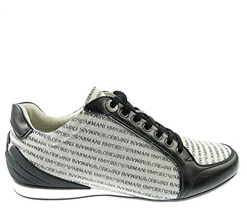 Emporio Armani - Zapatillas Hombre , color multicolor, talla 43 EU: Amazon.es: Zapatos y complementos