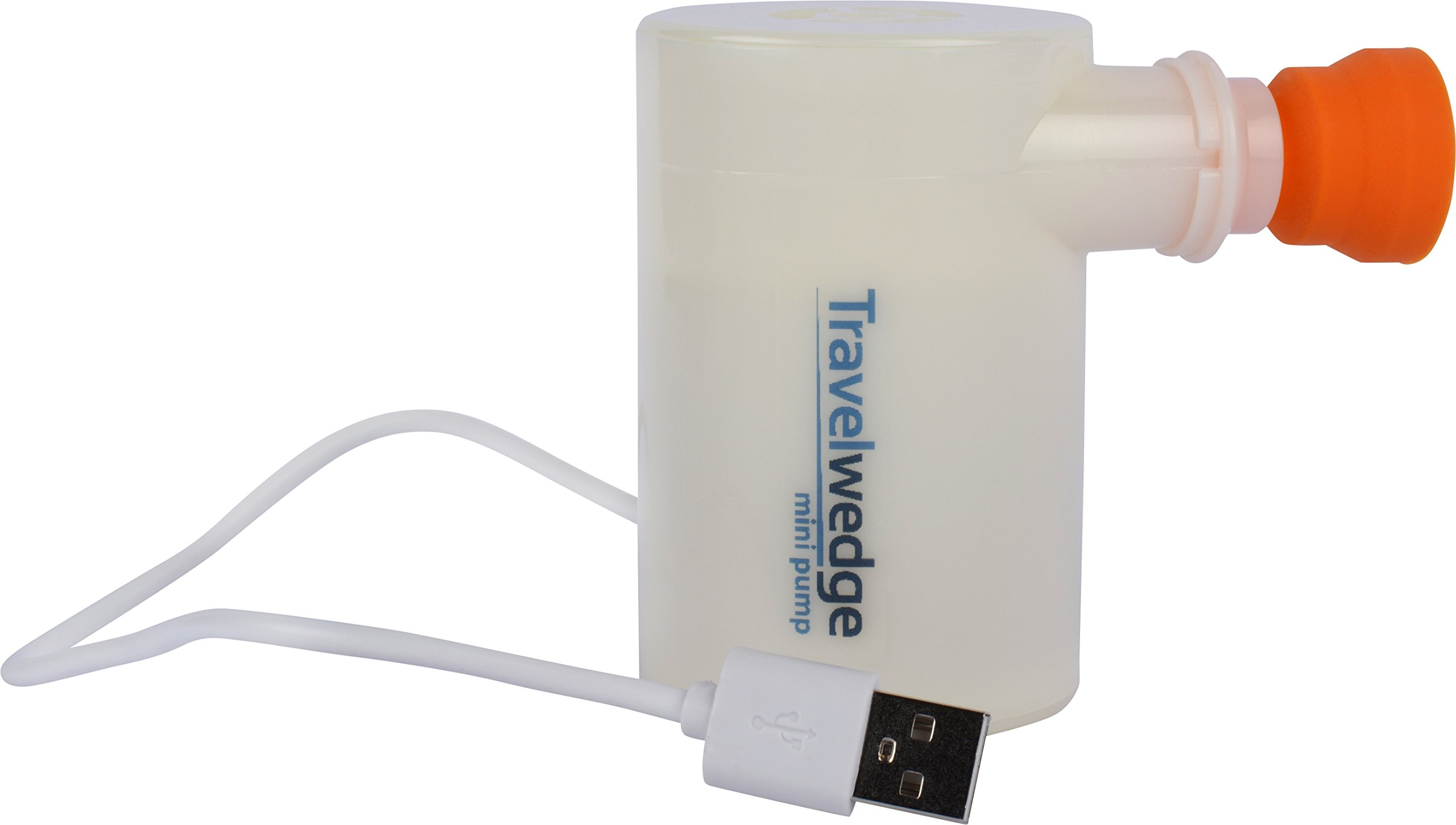 TravelWedge® Air Pump Mini USB Powered for Inflating and Other Inflatable Products, Super Light Weight Portable