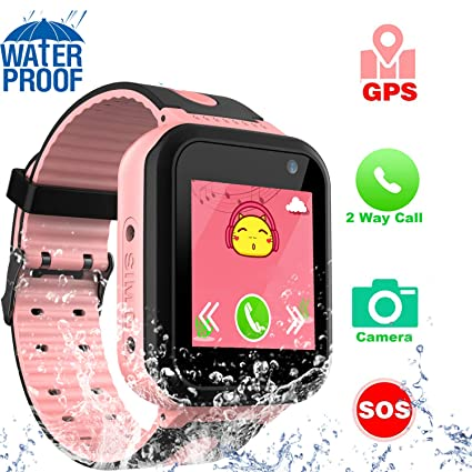 Amazon.com: Reloj inteligente para niños GPS Tracker – IP67 ...