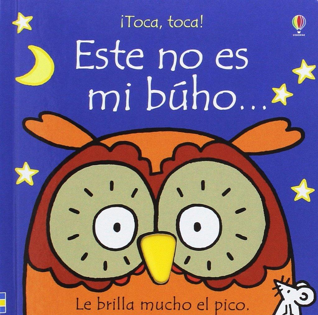 Libro y Búho de peluche (Spanish) Paperback