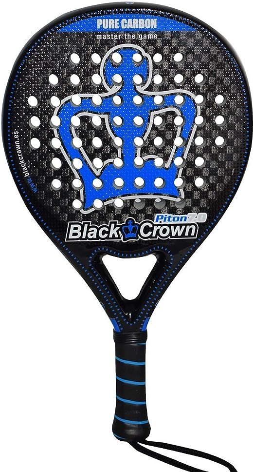 Pala de Pádel Piton 7.0 | Black Crown | Nivel: Avanzado ...
