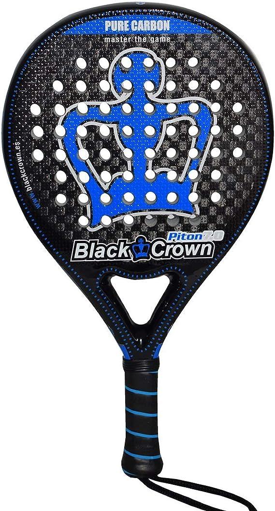 Pala de Pádel Piton 7.0   Black Crown   Nivel: Avanzado ...