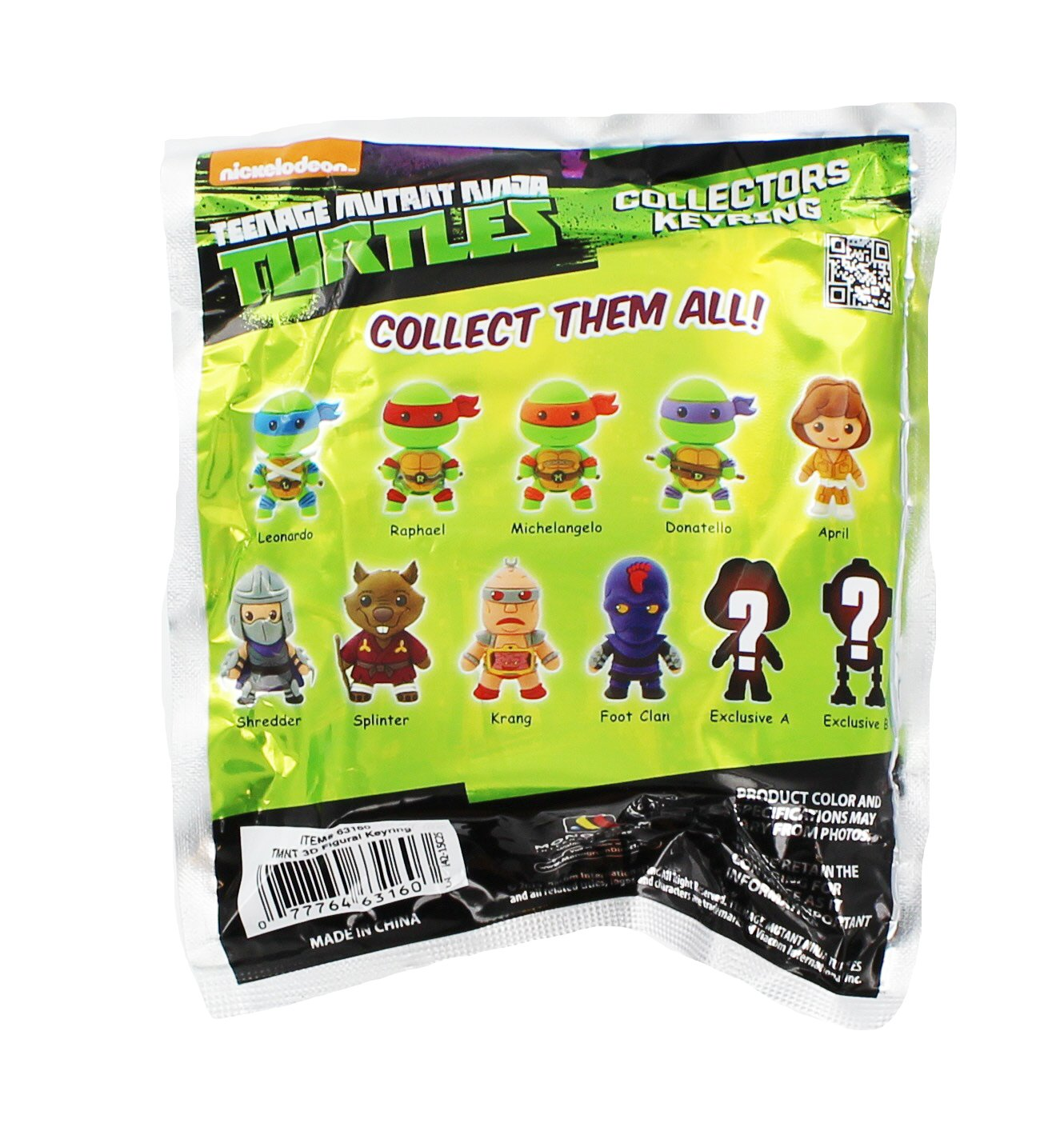 Teenage Mutant Ninja Turtles 3D Figural Keychain Figura (1 ...