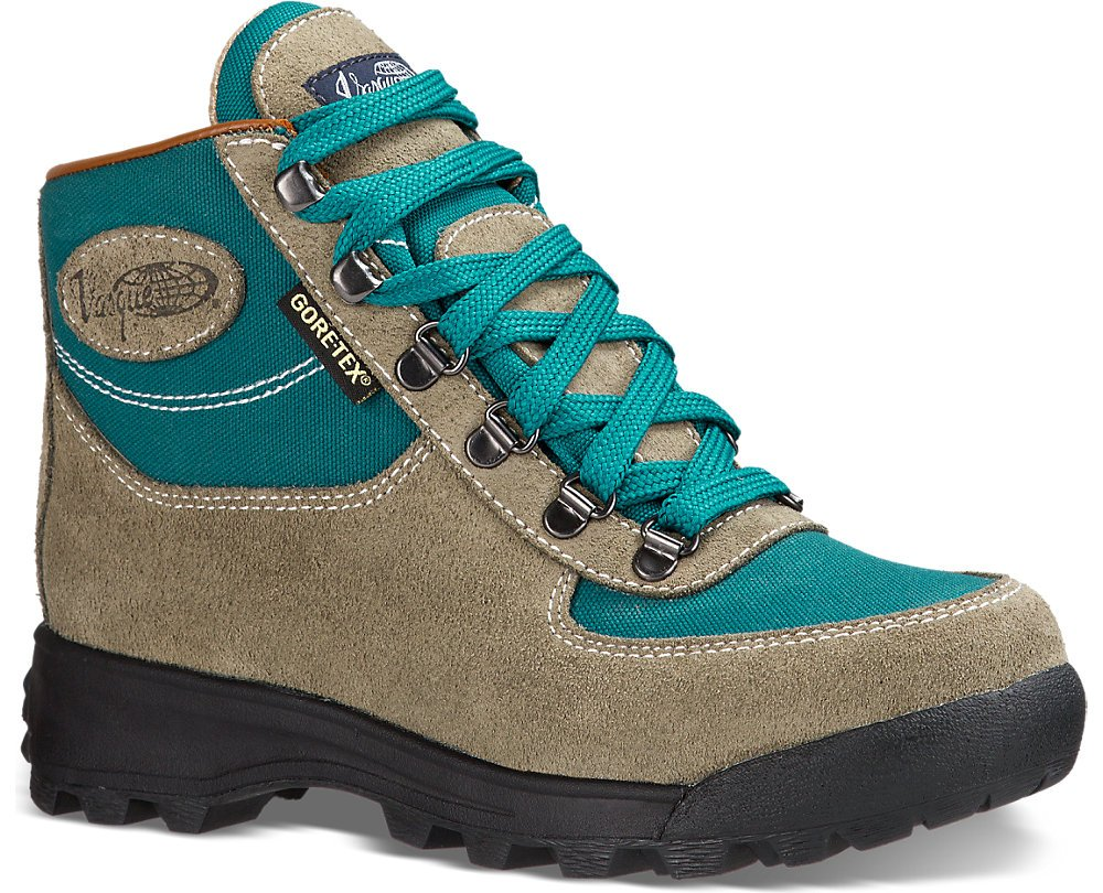 Vasque Women's Skywalk GTX Backpacking Boots Sage / Everglade 9.5 M & Cap