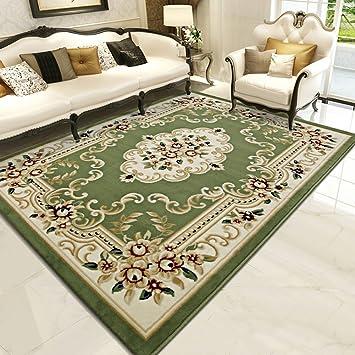 Super Luxe Style européen Imprimé floral Tapis pour le salon salle à ...