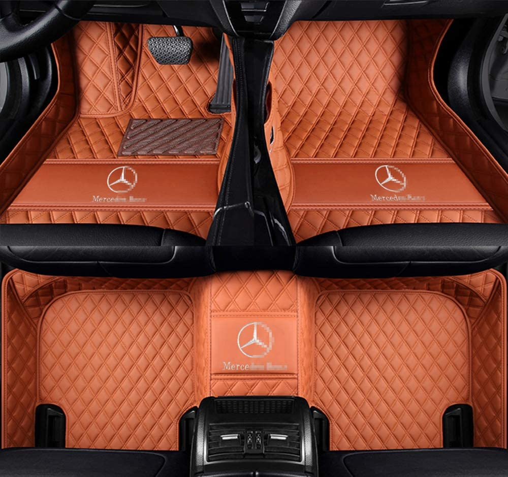 111Fit Mercedes-Benz GL320 GL350 GL450 GL500 GL550 GL63AMG Luxury Car Floor Mats